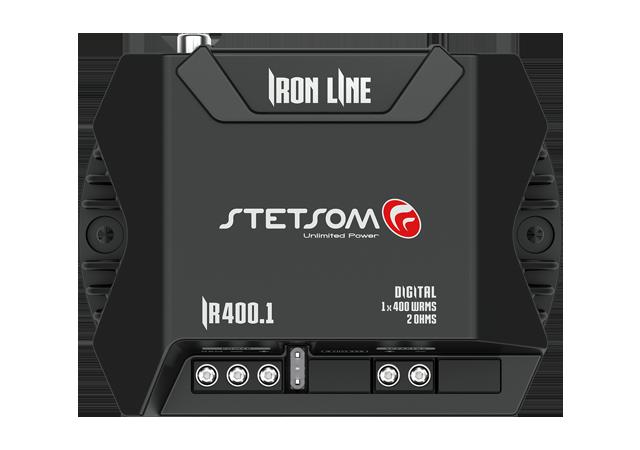 Módulo Stetsom Iron Line - IR 400.1 Canal 2 ohms