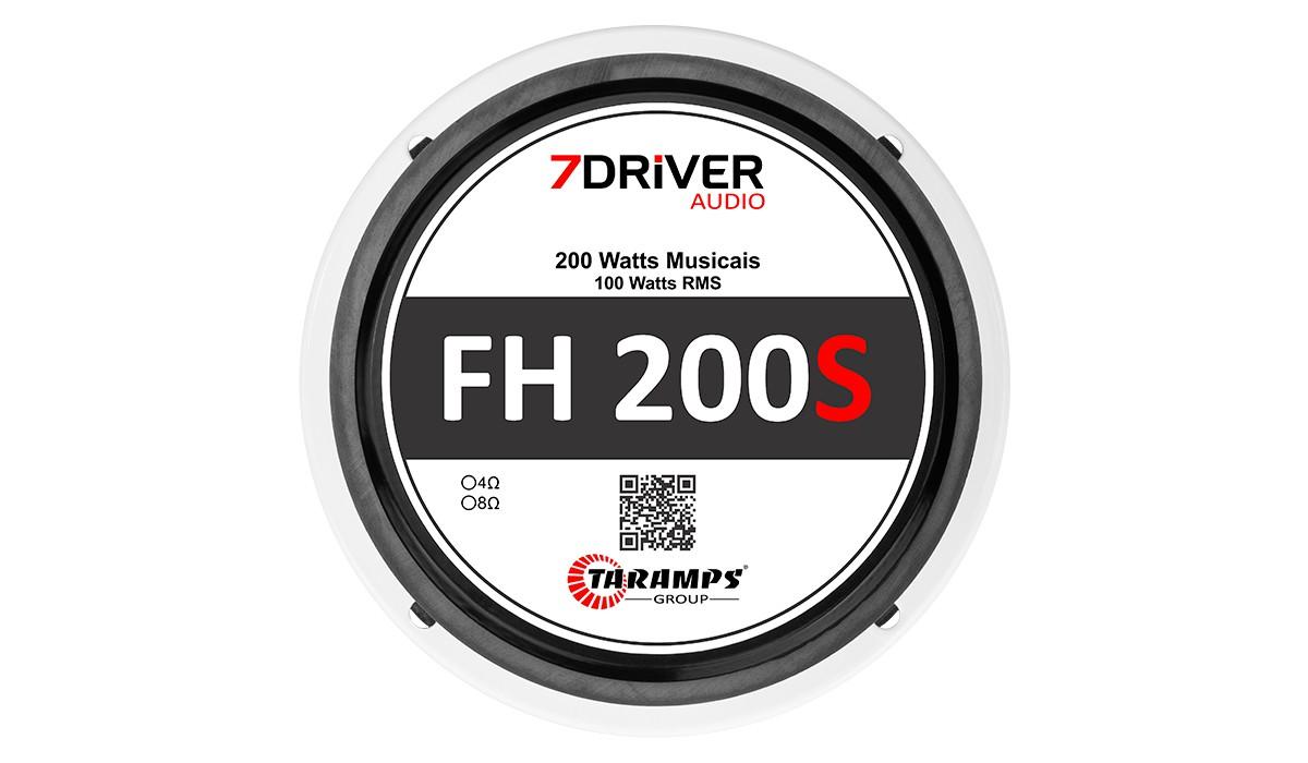 Par Alto Falante 7 Driver FH-200s Mid High 5 Pol 200w