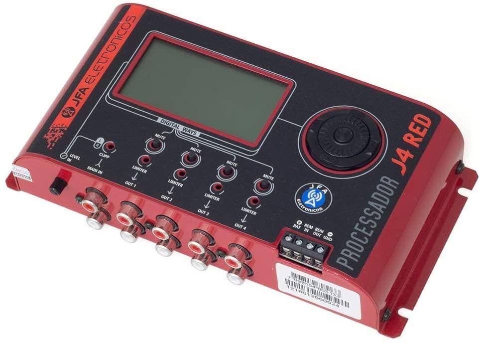 Processador de Audio Digital JFA J4 Red