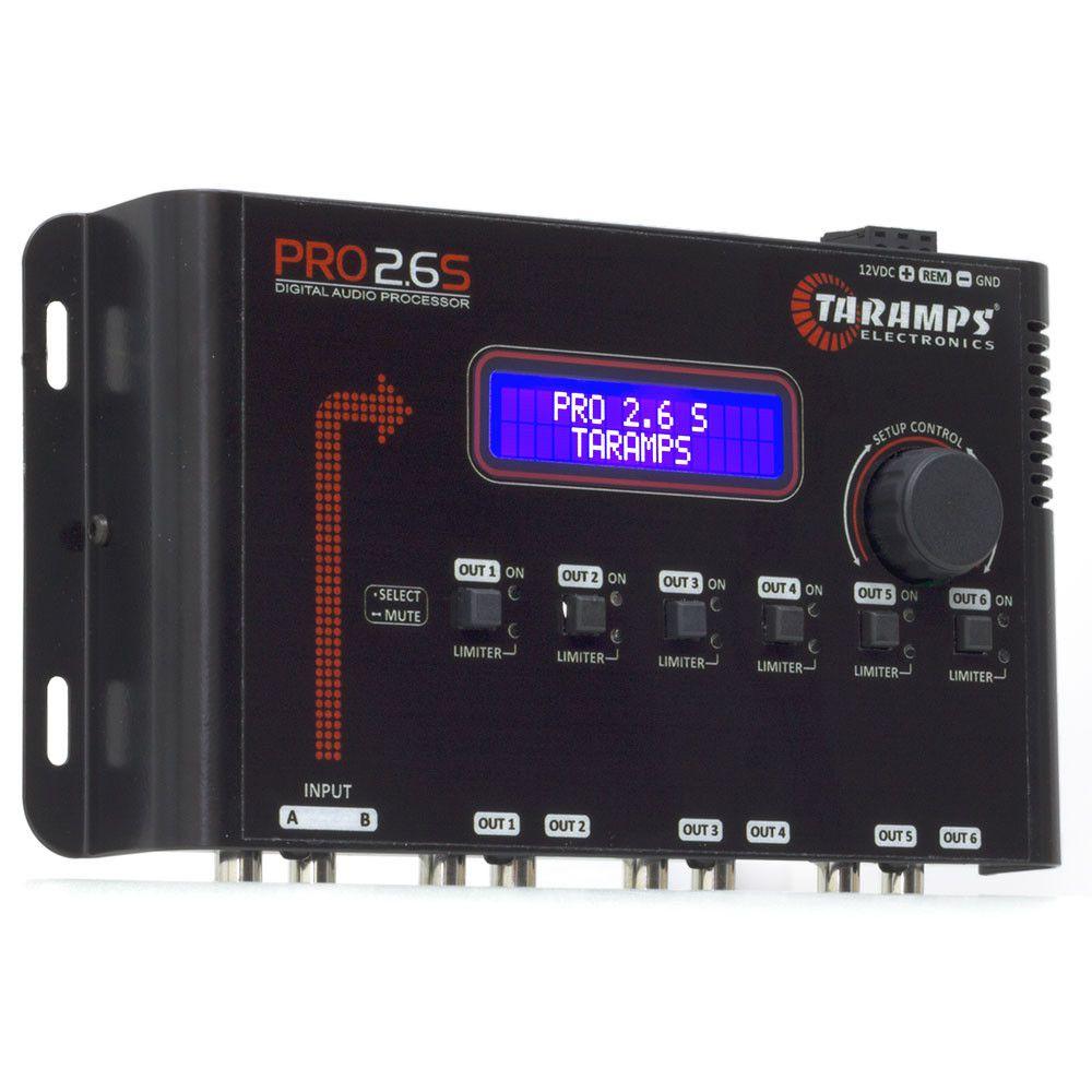 Processador de Audio Digital Taramps PRO 2.6S 6 Vias