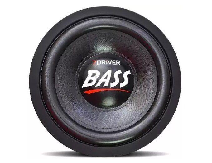 Subwoofer 7 Driver 1k2 Bass 10 pol 600w Rms 4+4 Ohms