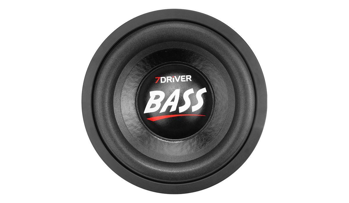 Subwoofer 7 Driver 1k2 Bass 8 pol 600w Rms 2+2 Ohms