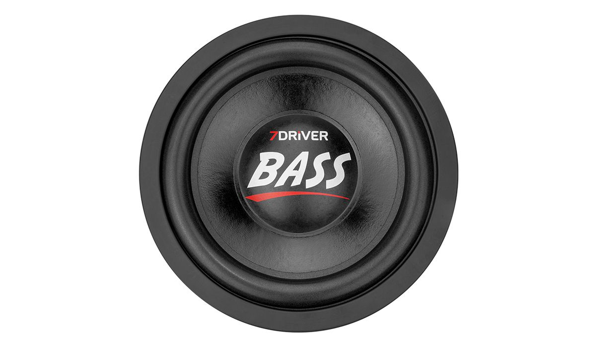 Subwoofer 7 Driver 1k6 Bass 12 pol 800w