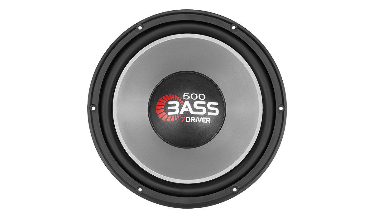 Subwoofer 7 Driver 500 Bass 10 pol 250w Rms