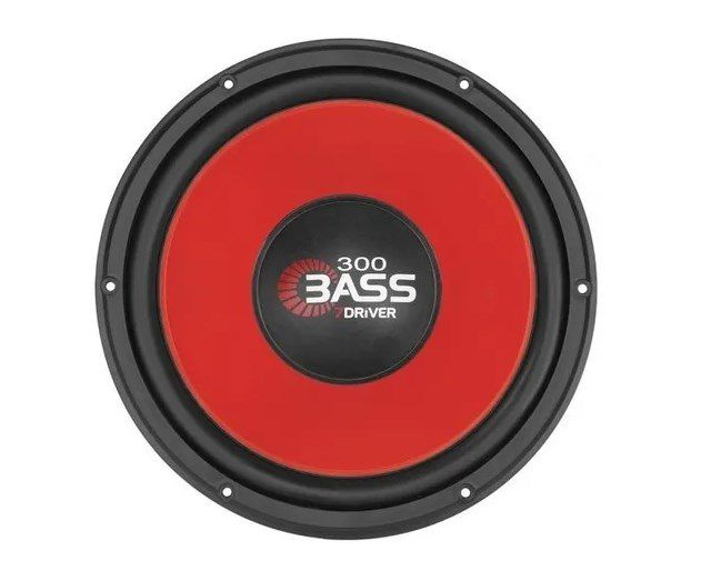 Subwoofer 7 Driver Bass300 150rms 12Pol 4ohms