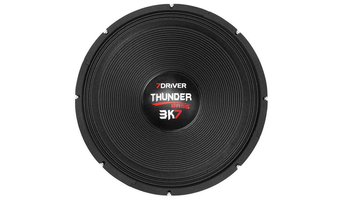 Subwoofer 7 Driver Thunder Bass 3k7 4 Ohms