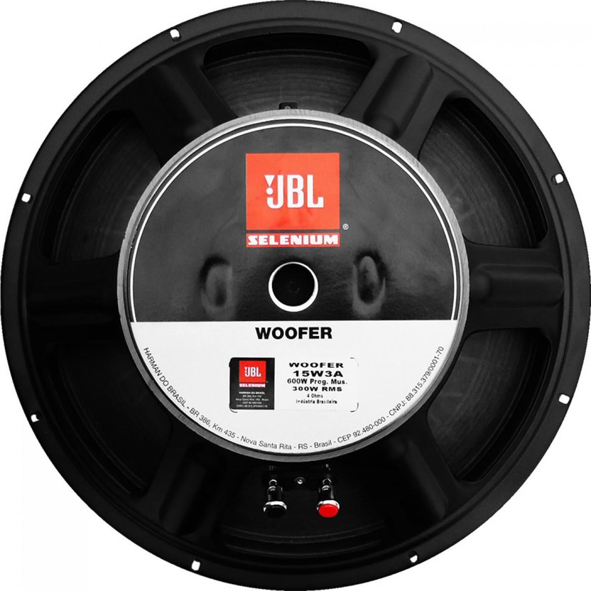 Subwoofer Jbl Street Bass 600W Rms 4 Ohm 15 Pol
