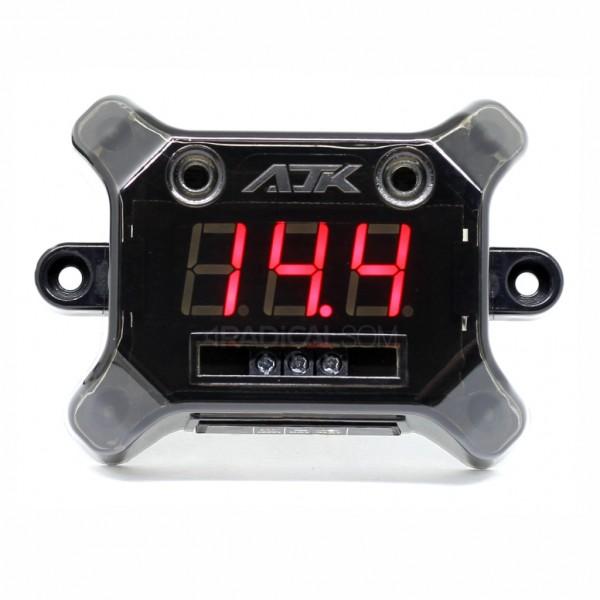 Voltimetro Digital Ajk Nano Black - 12v