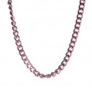 Colar Elos Delicados Pink Chain Collection