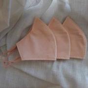 Kit 3 Máscaras Nude Dupla Camada