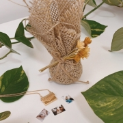 Kit Colar Carta de Amor + Sachê Perfumado Bamboo