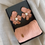 Kit Rosa Máscara + Flor
