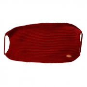 Máscara Tricot Forrada Luxo Vermelho Bordô Lavável