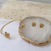 Mix Bracelete Abelha + Brinco