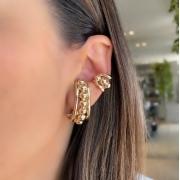 Mix Ear Hook + Piercing Esfera