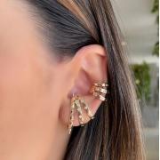 Mix Ear Hook + Piercing Sofisticado