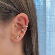Mix Ear Cuff Bolinhas Colors