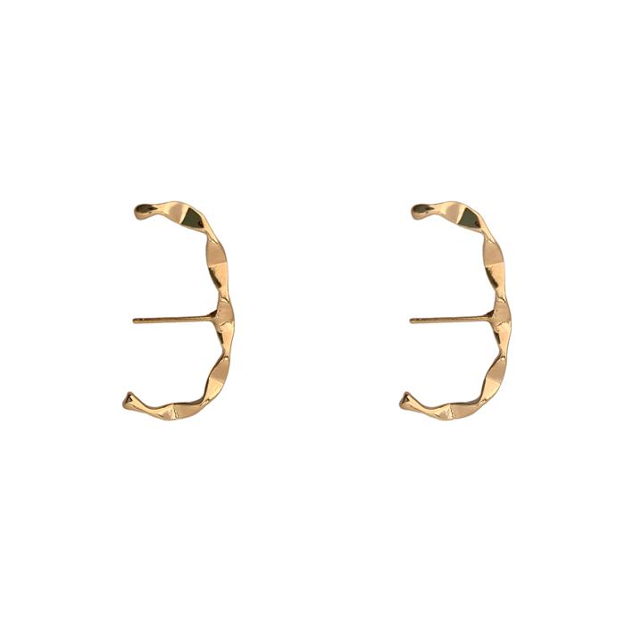 Brinco Ear Hook Juliette Banhado a Ouro 18k