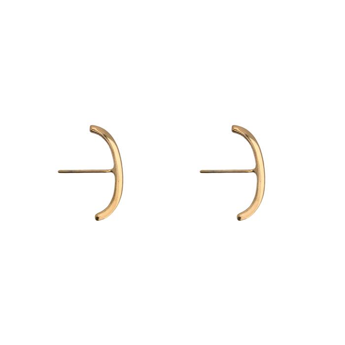 Brinco Trio de Ear Hook Variados Banhado a Ouro 18k