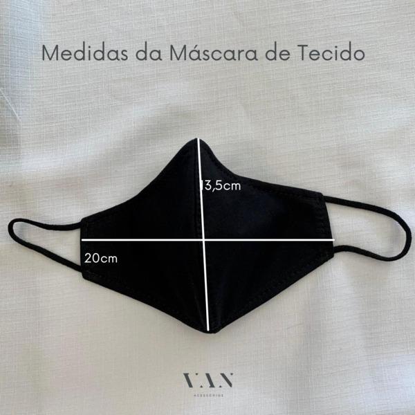 Kit 3 Máscaras Gatinhos Coloridos Laváveis Dupla Camada