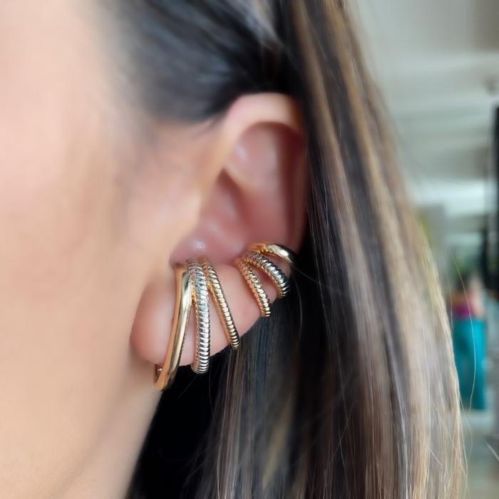 Mix Ear Hook + Piercing