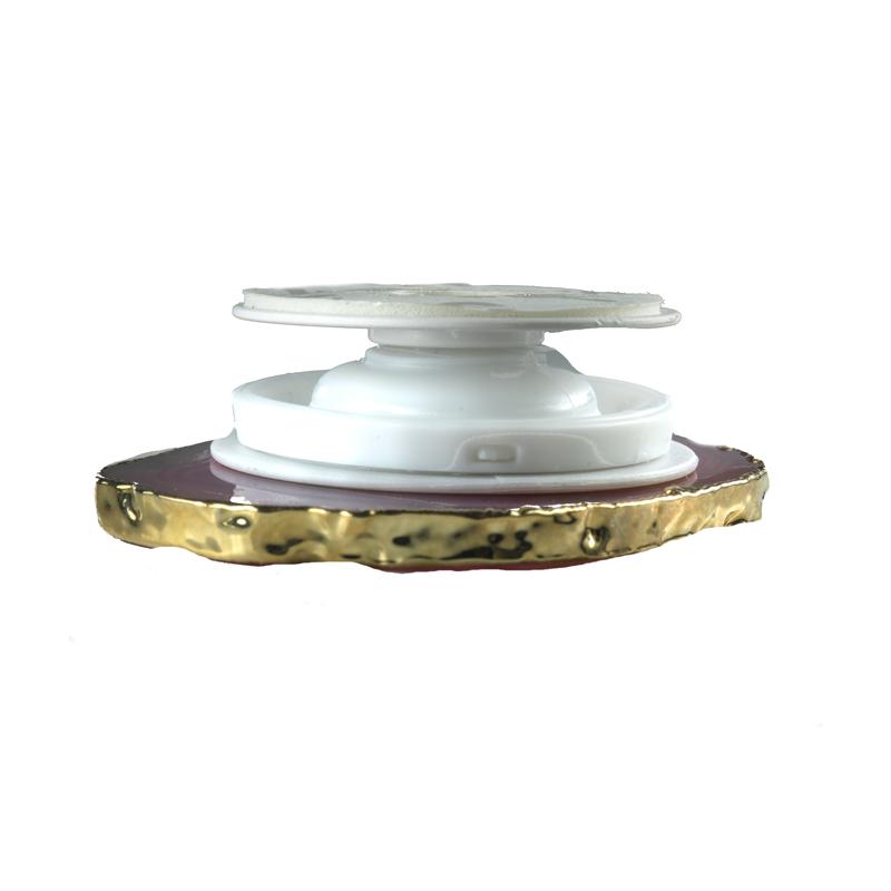 PopSocket Chapa Ágata Natural -  Acessório de Celular