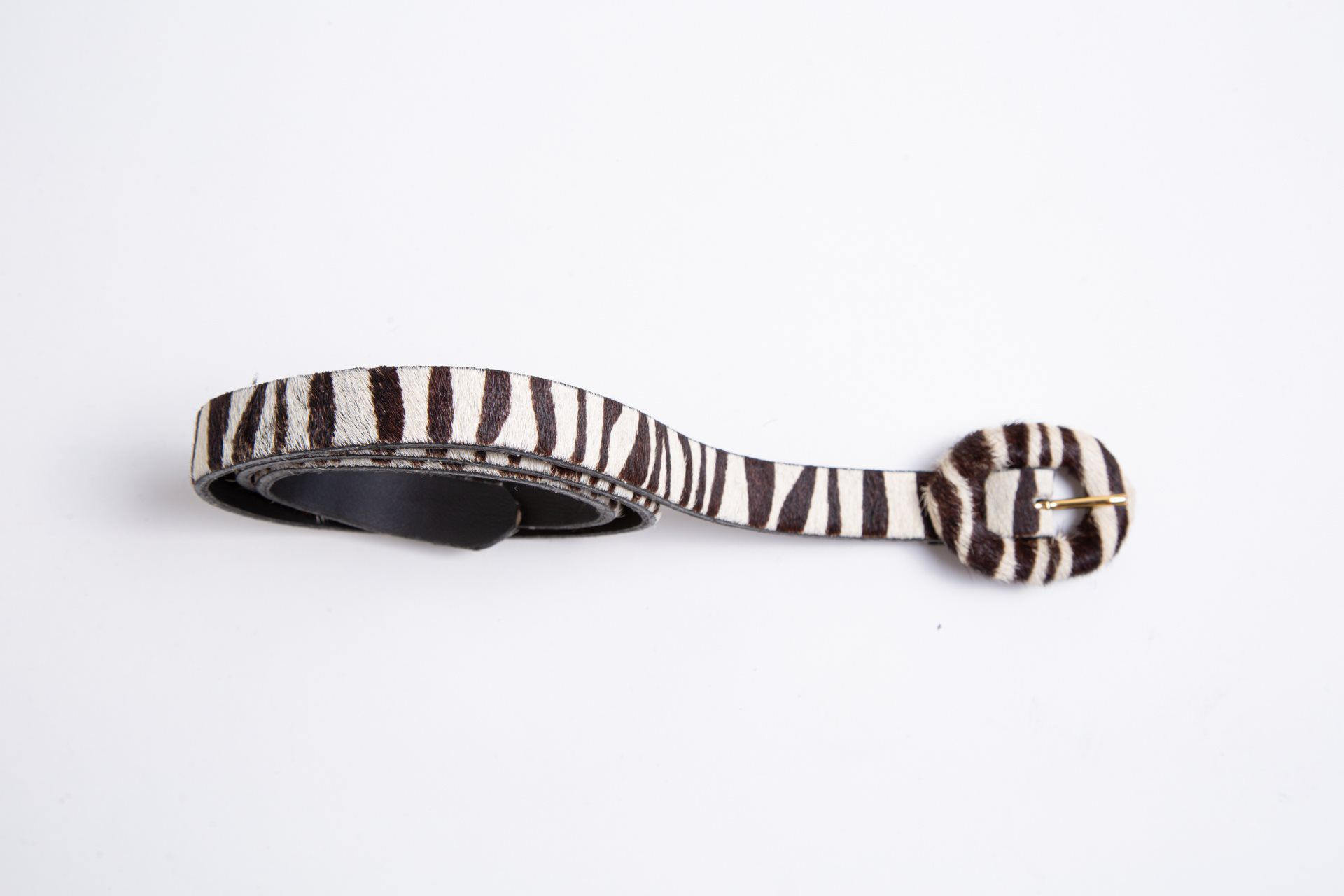 CINTO ANIMAL PRINT  ZEBRA