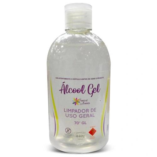 Álcool Em Gel 500ml 70% Tropical Aromas