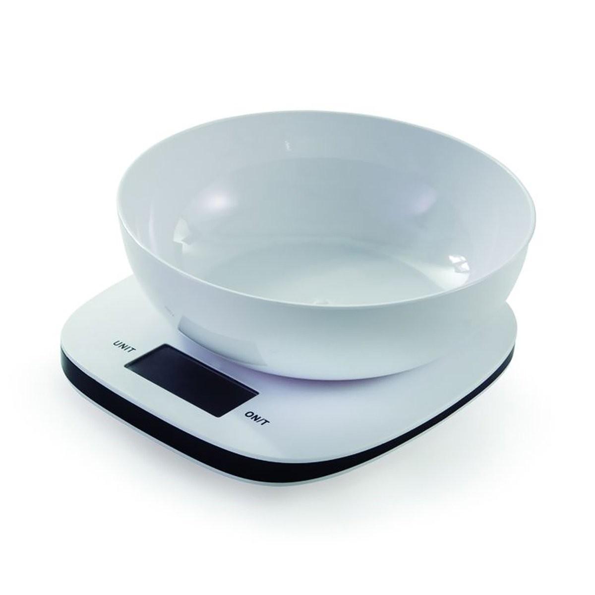 Balança Digital Bowl Branca 5kg Mimo style