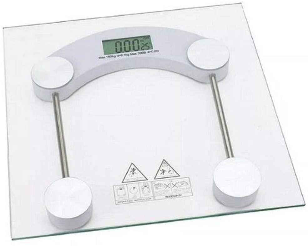 Balança Digital de Banheiro Quadrada 180kg Sq3424