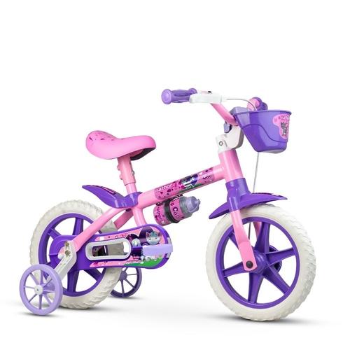 Bicicleta Aro 12 Cat Selim PU - Nathor