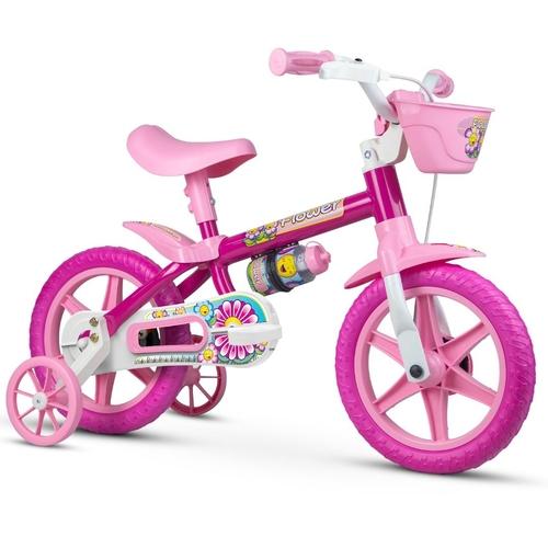 Bicicleta Aro 12 Flower 11 - Nathor