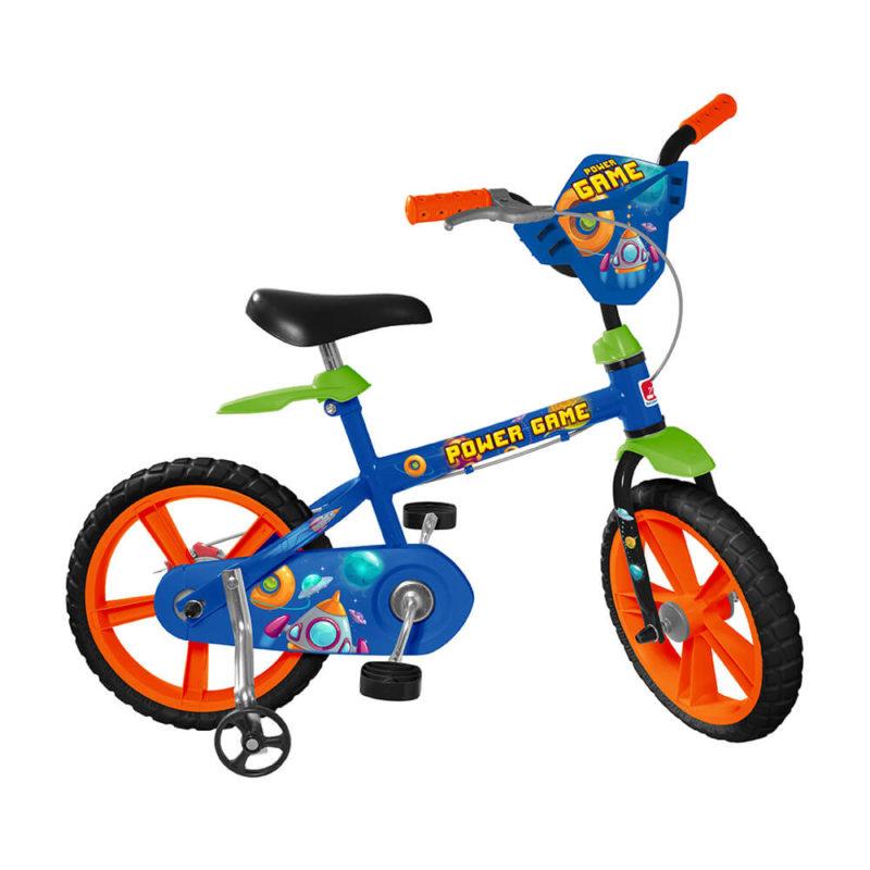 Bicicleta ARO 14 - Power Game - Bandeirante