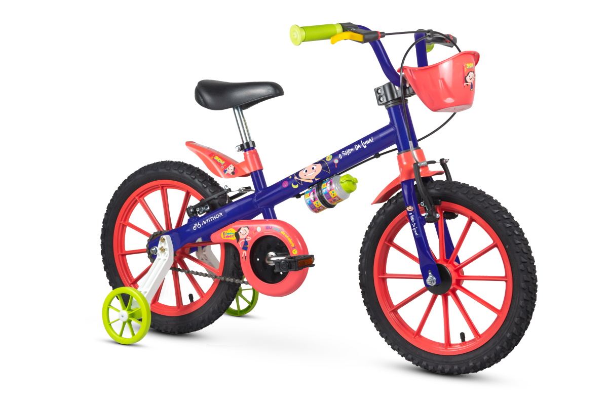 Bicicleta Nathor Aro 16 Show da Luna com Cestinha