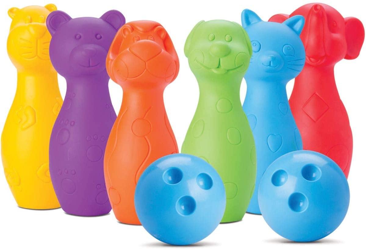 Boliche Coleção Bichinhos Vinil - Roma Brinquedos