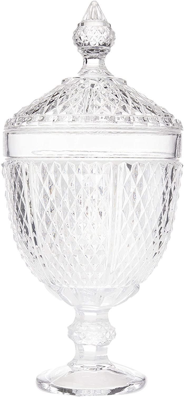 Bomboniere Comodoro em Cristal Ecológico com Pé L'Hermitage Transparente
