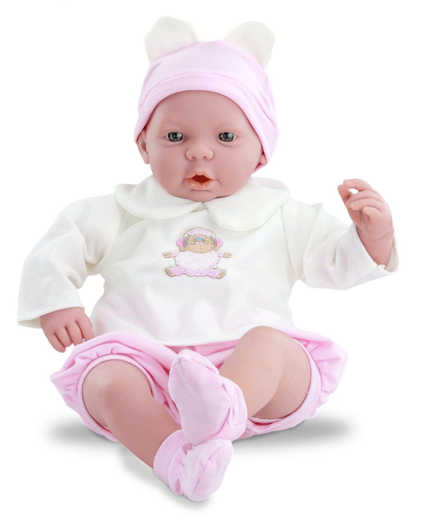 Boneca Bebê Real - Choro Mágico - Com Acessórios - Roma Brinquedos