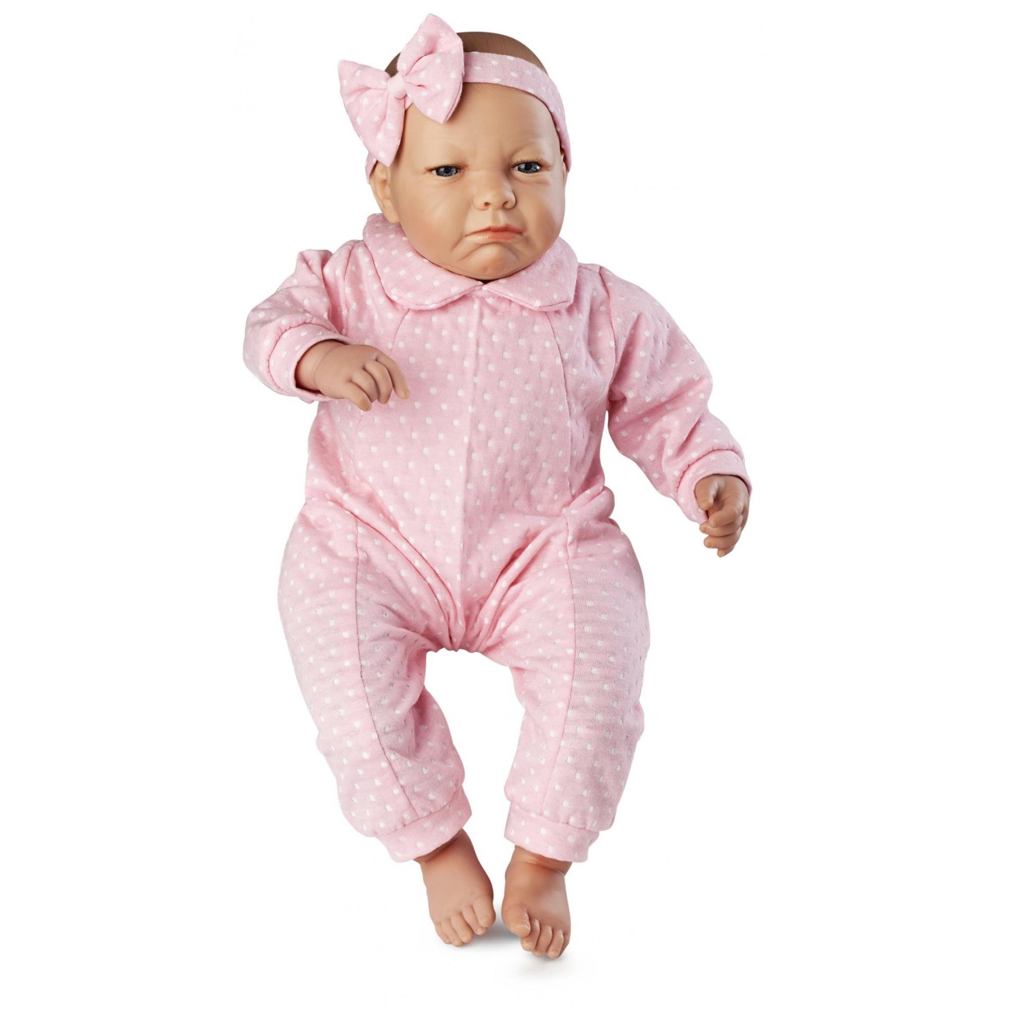Boneca Bebê Real Expressões - Quero Carinho - Roma Brinquedos
