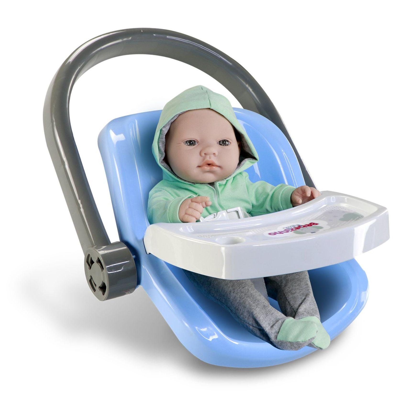 Boneca Bebezinho Real - Bebê Conforto - Roma Brinquedos