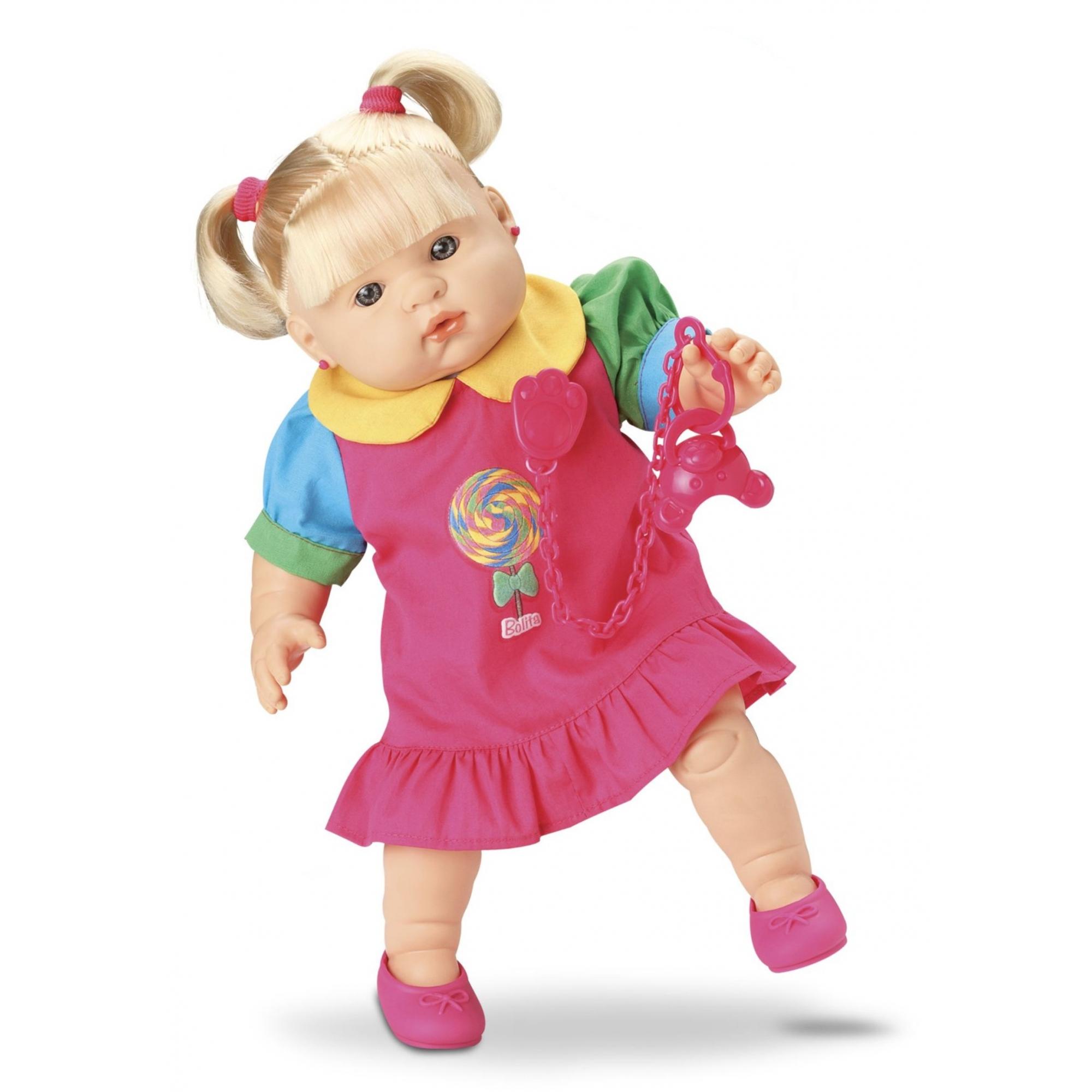 Boneca Bolita - 100 Frases - Roma Brinquedos