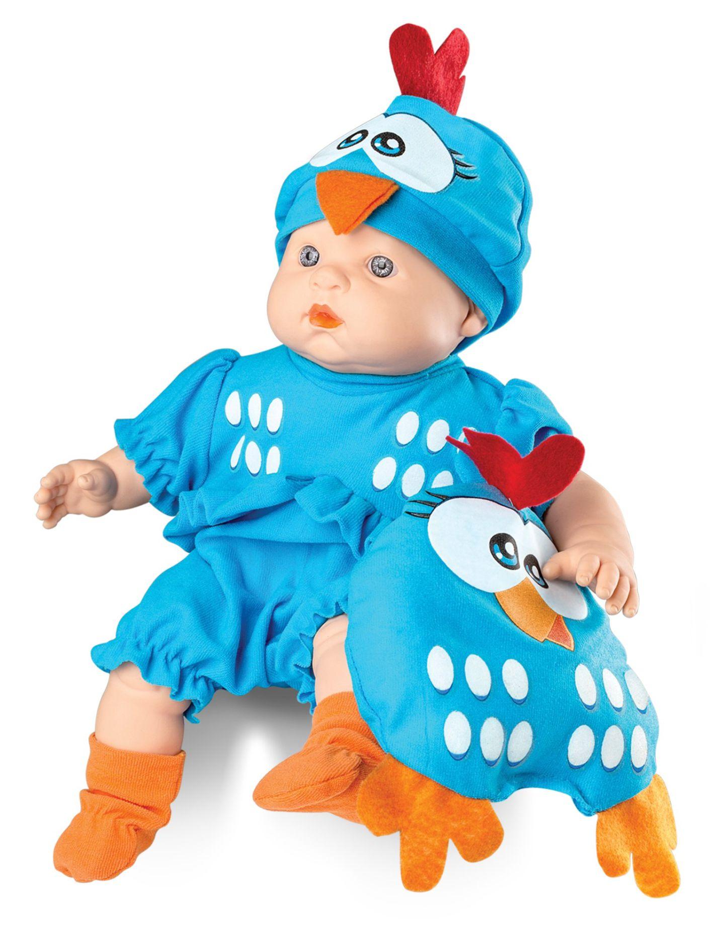 Boneca Galinha Pintadinha Mini Baby - Roma Brinquedos