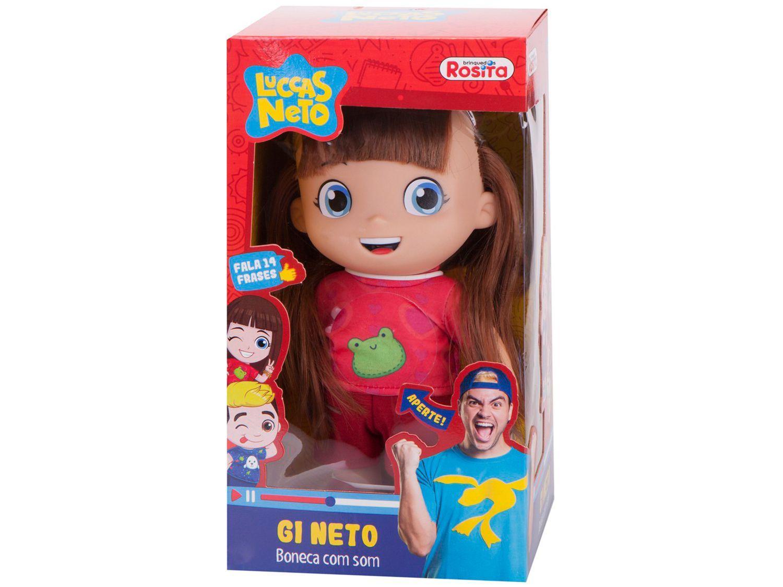 Boneca Gi Neto  - Rosita - Novabrink
