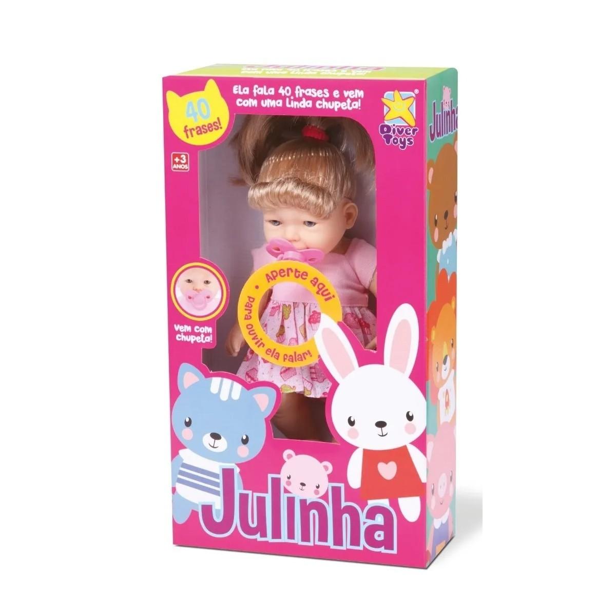 Boneca Julinha da DiverToys fala 40 frases
