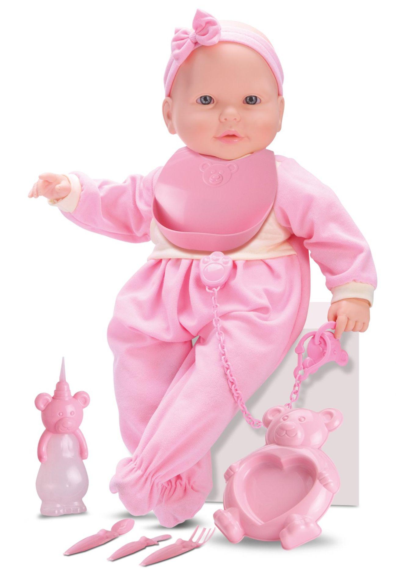 Boneca New Bebê Mania - Baba - Roma Brinquedos