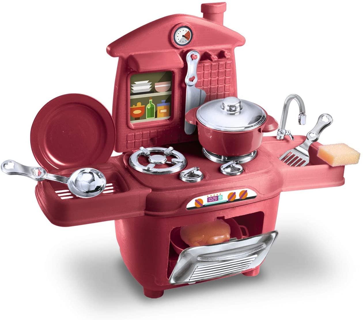 Brinquedo Cooktop Chef Kids Com 16 Peças - Zuca Toys