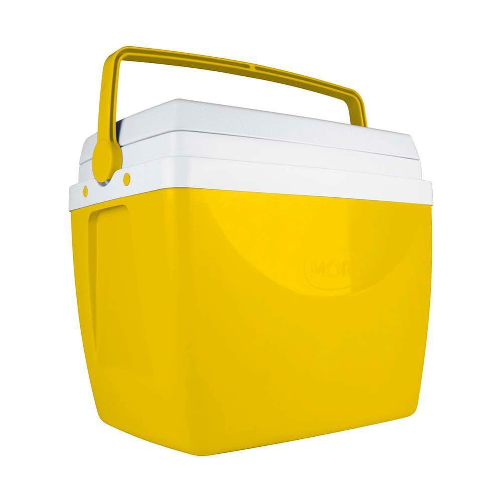 Caixa Térmica 34 Litros Amarela