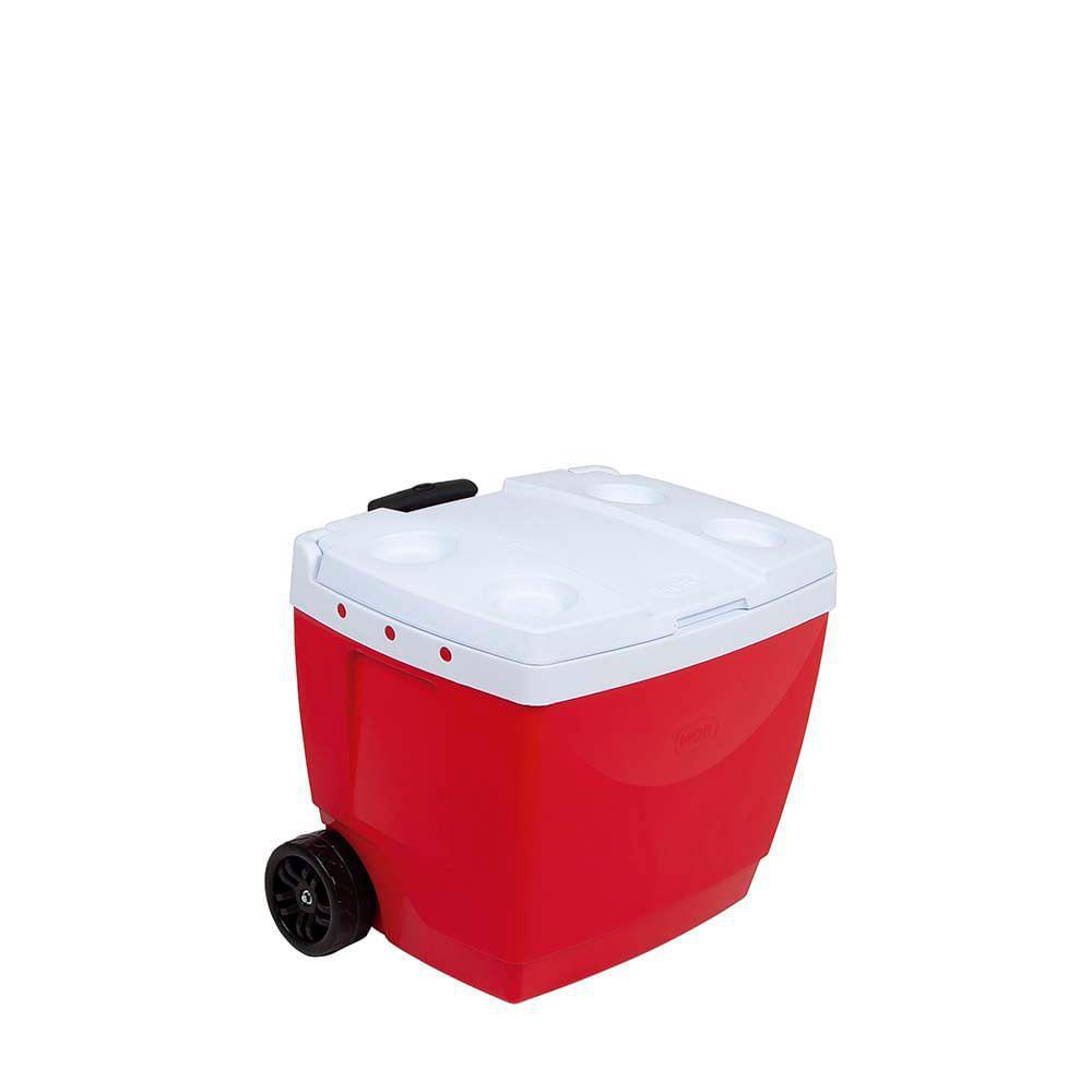Caixa Térmica 42L Vermelha