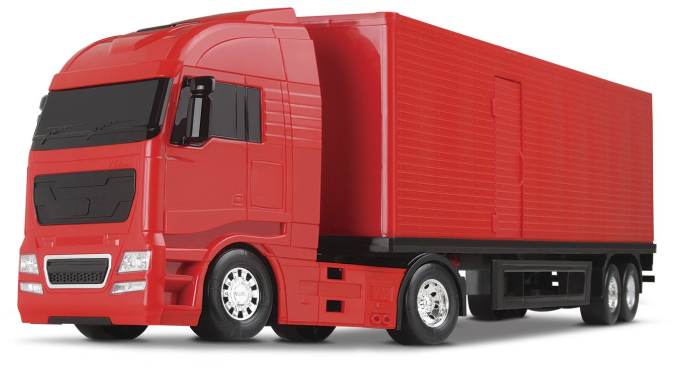 Caminhão Baú - Diamond Truck - Roma Brinquedos