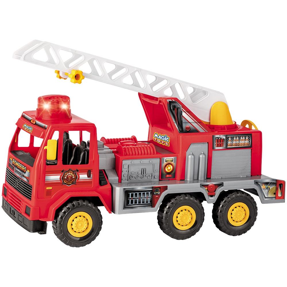 Caminhão Bombeiro Fire - Magic Toys
