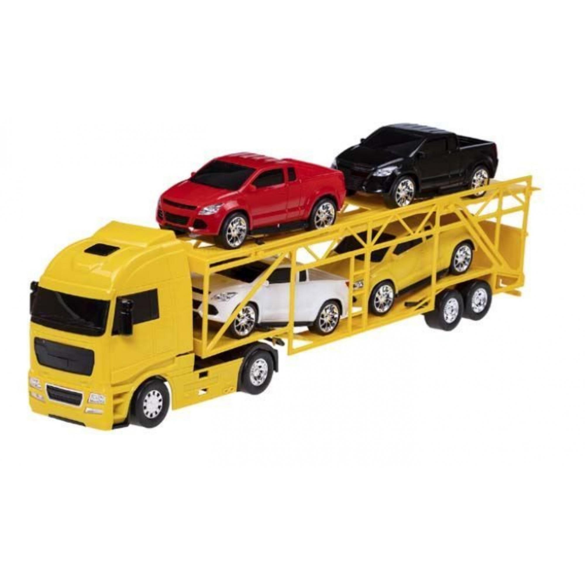 Caminhão Diamond Truck Cegonheira - Roma Brinquedos